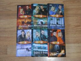 Dr Who books, set of 6.