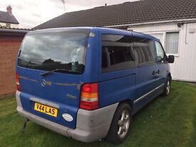 Mercedes Benz Vito 2.0 Automatic Wheel Chair Lift 67 ooo Miles