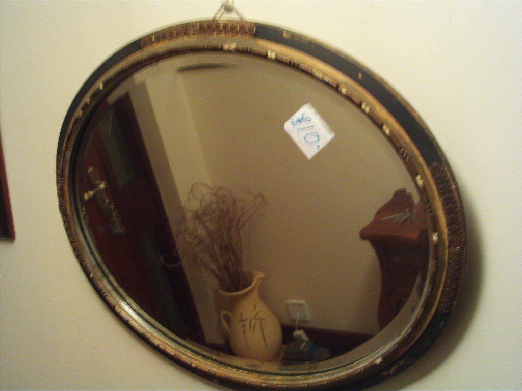 2 Very old Bevel Edge Mirrors