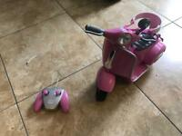 Baby born battery operated bike for a doll