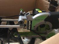 Evolution Fury3 XL 255mm Sliding Mitre Saw