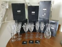 John Rocha, Waterford Crystal, Signature Glassware. Used twice, fully boxed.