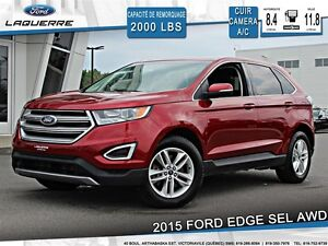 2015 Ford Edge SEL**AWD*CUIR*CAMERA *CRUISE*A/C**