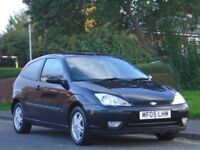 Ford Focus 1.6 Zetec 3dr£999 p/x welcome 3 OWNERS,LOW MILEAGE,LONG MOT