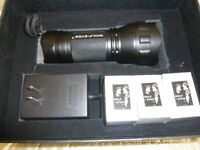 Wolf Eyes Storm 3Cree Led Tactical Flashlight