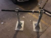 Heavy duty cable reel stand