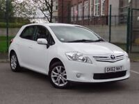 Toyota Auris 1.6 V-Matic Colour Collection 5dr 2012 White Low Miles Full Toyota Service History