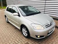 Toyota Corolla 1.6 vvti colour collection in excellent condition lady owned mot till Sep 18