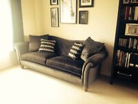 Grey Parker & Knoll Sofa + local Delivery