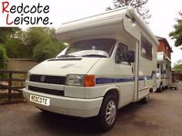 Volkswagen Transporter VW T4 Diesel Holdsworth Valentine Compact Campervan Motorhome LOW MILEAGE