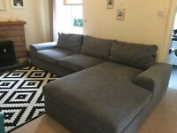 Grey corner sofa , good condition