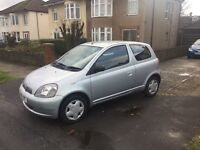 02 Toyota Yaris 1.3vvt Automatic. Family owned from new, new mot,proper auto box, lovely in & out