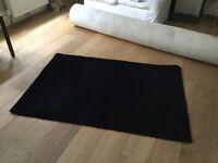 Black rugs (wool)