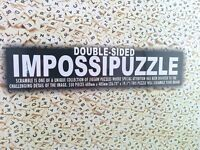 Double Sided Impossipuzzle Scramble 550 Piece Jigsaw Puzzle BRAND NEW & SEALED