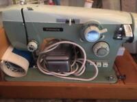 Old pinnock sewing machine