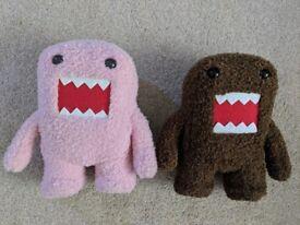 Domo kun monstor plush soft toy pink & brown * anime kawaii Japan Japanese JDM