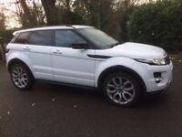 LANDROVER EVOQUE DIESEL AUTOMATIC 5 DOOR DYNAMIC GREAT SPEC DRIVES PERFECT .