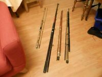 4 Sea Fishing Rods