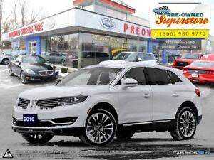 2016 Lincoln MKX Reserve***Tech Package, 21 rims, 2.7L Ecoboost*