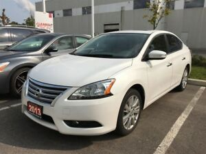 Nissan Sentra 1.8 sl leather and navi 2013
