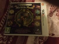3ds game Professor Layton miracle of the mask complete with case