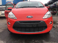 BREAKING - FORD KA 2009-2015 - FRONT BUMPER - RED - ALL PARTS AVAILABLE