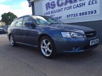 2005 55 SUBARU LEGACY SPORTS TOURER 5 DOOR