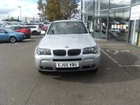 2005 55 BMW X3 3.0 D M SPORT 5D 215 BHP **** GUARANTEED FINANCE **** PART EX WELCOME