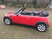 MINI COPPER 1.6 CONVERTIBLE. LONG MOT ONLY DONE 80K