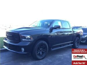 2018 Ram 1500 Sport**DEMO**Only 2309 kms**