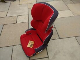 Halfords Group 2-3 Highback Booster Child car seat - very good condition - only used in Grandmas car