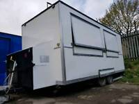 Catering Trailer completely refurbished