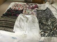 A selection of ladies m & s skirts size 16