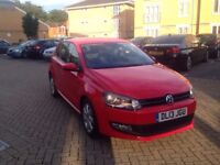 2013 VOLKSWAGEN POLO RED 11,000 MILES ONLY CAT C EXCELLENT CONDITION FULL SERVICE HISTORY