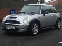 MINI COOPER S 2002 (02 REG)**£1499**VERY LOW MILES*LONG MOT*SERVICE HISTORY*PX WELCOME*DELIVERY