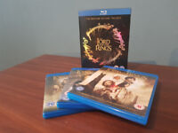 Lord of the Rings Blue Trilogy Blue-ray Boxset