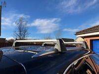 Genuine Porsche narrow roof storage ski box and bars