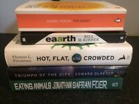 ENVIRONMENT ECONOMICS BOOK LOT TRIUMPH CITY HOT FLAT CROWDED QUEST EARTH