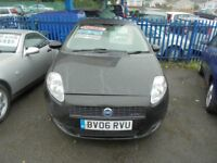 FIAT PUNTO 1248cc DYNAMIQUE MULTIJET 90 TURBO DIESEL 3 DOOR HATCH 2006-06