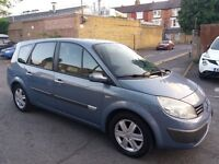 1.6 RENAULT GRAND SCENIC 7 SEATER 88000 MILES PETROL HISTORY MOT 5/9/17 HPI CLEAR 3 MONTHS WARRANTY