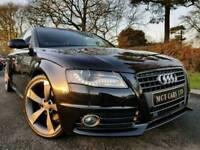 April 2010 Audi A4 2.0 Tdi S line Avant Black Edition Spec! Sat Nav! Tech Pack! New 19 Inch Wheels!