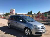 2007 Vauxhall Zafira energy 1.6 only 34,000 miles!!!