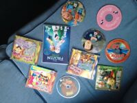 Various children cds and dvds £5 ONO