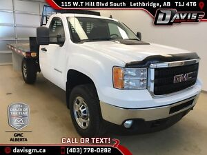 Used 2011 GMC Sierra 2500HD Regular Cab Flat Deck-HD Trailering