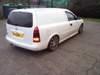vauxhall astra 1.7 dti (slightly modified)