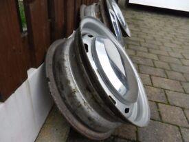 MGC steel wheels