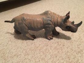 Large soft toy rhino