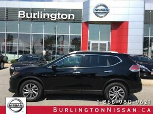 2015 Nissan Rogue SL, NAVi, LEATHER, ACCIDENT FREE !
