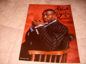 FRANK BRUNO SIGNED PICTURE