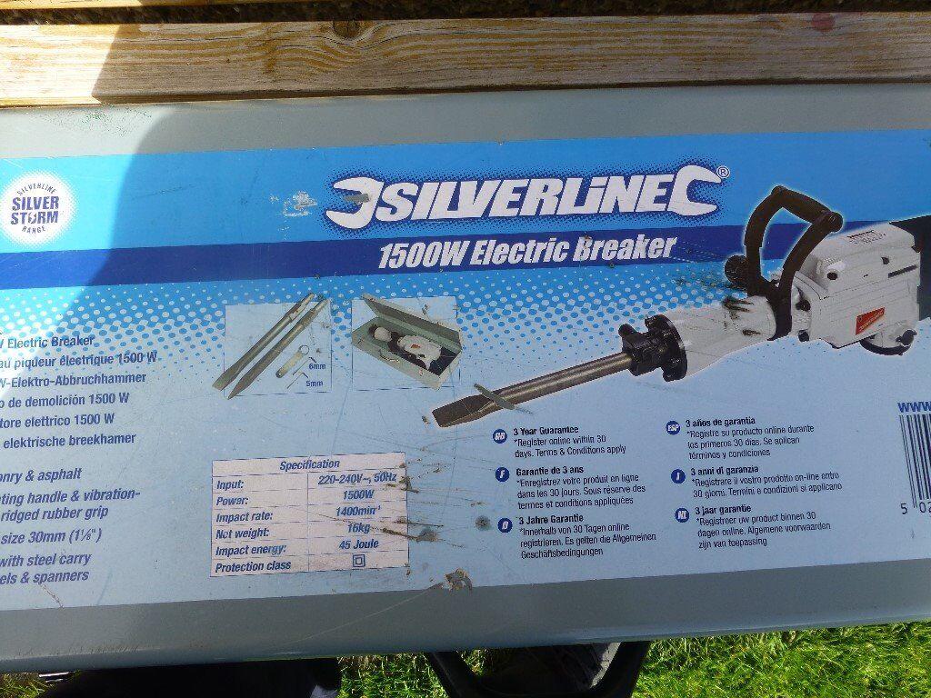 Electric Breaker Demolition Hammer Silverline 1500 In Balgreen Need A 220 Linebreakers1jpg Edinburgh Gumtree